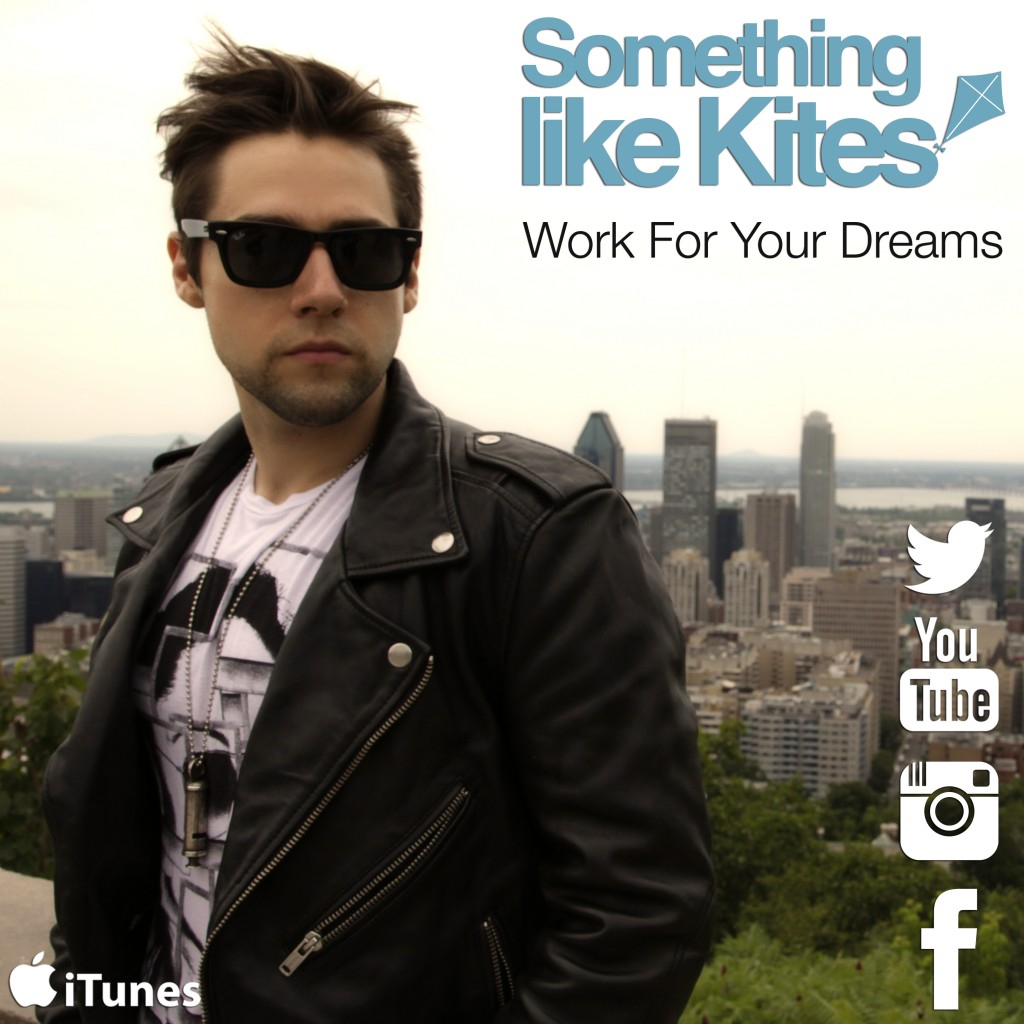Work For Your Dreams album art with logos